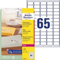 Avery Zweckform L7551-25 öntapadós etikett címke