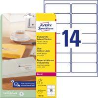 Avery Zweckform L7563-25 öntapadós etikett címke