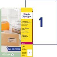 Avery Zweckform L7567-25 öntapadós etikett címke