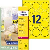 Avery Zweckform L7670Y-25 öntapadó etikett címke