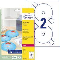 Avery Zweckform L7760-25 öntapadó CD címke