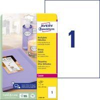 Avery Zweckform L7767-40 öntapadó etikett címke