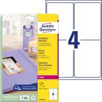 Avery Zweckform L7769-40 öntapadó etikett címke