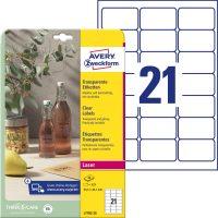 Avery Zweckform L7782-25 öntapadó etikett címke