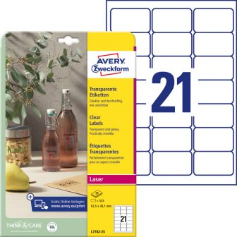 Avery Zweckform L7782-25 öntapadós etikett címke