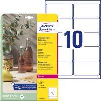 Avery Zweckform L7783-25 öntapadós etikett címke
