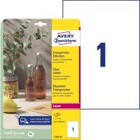 Avery Zweckform L7784-25 öntapadós etikett címke