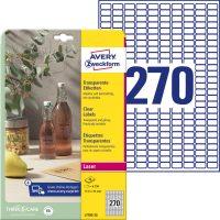 Avery Zweckform L7785-25 öntapadós etikett címke