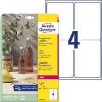 Avery Zweckform L7786-25 öntapadós etikett címke