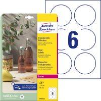 Avery Zweckform L7788-25 öntapadós etikett címke