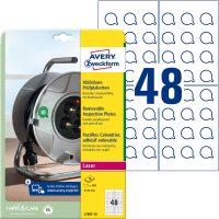 Avery Zweckform L7803-10 öntapadó körcímke