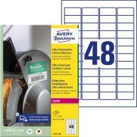 Avery Zweckform L7911-40 öntapadós etikett címke