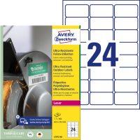 Avery Zweckform L7912-40 öntapadós etikett címke