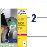 Avery Zweckform L7916-40 öntapadós etikett címke