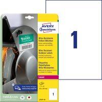 Avery Zweckform L7917-10 öntapadós etikett címke