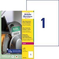 Avery Zweckform L7917-40 öntapadós etikett címke