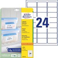 Avery Zweckform L7970-25 öntapadó etikett címke