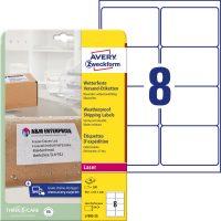 Avery Zweckform L7993-25 öntapadós etikett címke