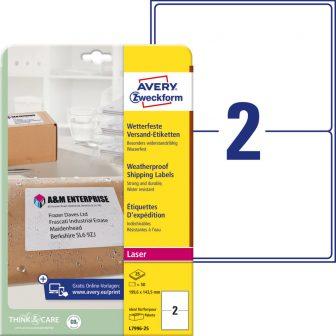 Avery Zweckform L7996-25 öntapadós etikett címke