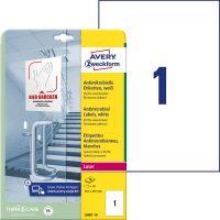 Avery Zweckform L8001-10 öntapadós antimikrobiális etikett címke