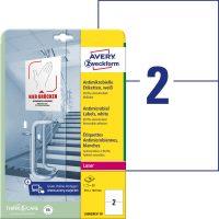 Avery Zweckform L8002REV-10 öntapadós antimikrobiális etikett címke