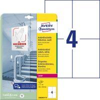 Avery Zweckform L8003REV-10 öntapadós antimikrobiális etikett címke