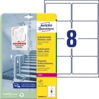 Avery Zweckform L8004REV-10 öntapadós antimikrobiális etikett címke