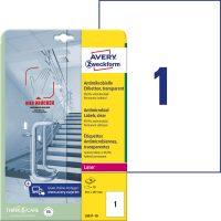 Avery Zweckform L8011-10 öntapadós antimikrobiális etikett címke