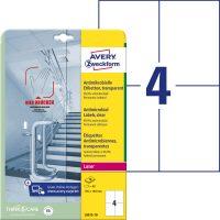 Avery Zweckform L8013-10 öntapadós antimikrobiális etikett címke