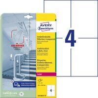 Avery Zweckform L8013REV-10 öntapadós antimikrobiális etikett címke