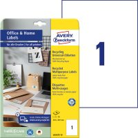 Avery Zweckform LR3478-10 környezetbarát öntapadós etikett címke
