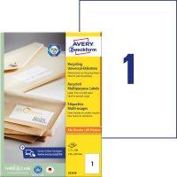 Avery Zweckform LR3478 öntapadós etikett címke