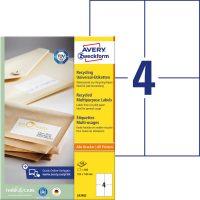 Avery Zweckform LR3483 környezetbarát öntapadós etikett címke