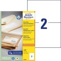 Avery Zweckform LR3655 környezetbarát öntapadós etikett címke