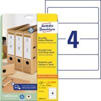 Avery Zweckform LR4761-25 nyomtatható öntapadós környezetbarát iratrendező címke