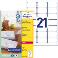 Avery Zweckform LR7160-100 környezetbarát öntapadós etikett címke