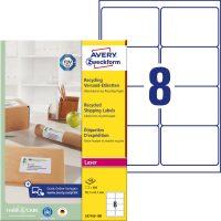Avery Zweckform LR7165-100 öntapadó etikett címke