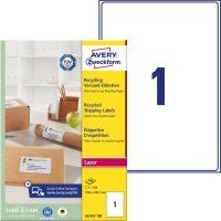 Avery Zweckform LR7167-100 környezetbarát öntapadós etikett címke