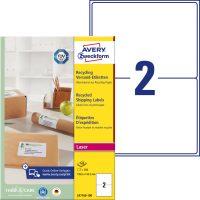 Avery Zweckform LR7168-100 környezetbarát öntapadós etikett címke