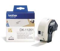 Brother DK-11201 tekercses öntapadó fehér etikett címke - méret: 29 x 90 mm - 400 címke / tekercs (Brother DK-11201)