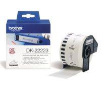 Brother DK-22223 tekercses öntapadó fehér szalag - méret: 50 mm x 30,48 méter (Brother DK-22223)