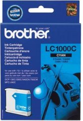 Brother LC1000C tintapatron - cián (Brother LC1000C)