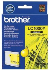 Brother LC1000Y tintapatron - sárga (Brother LC1000Y)