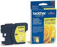 Brother LC1100Y tintapatron - sárga (Brother LC1100Y)