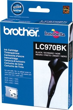 Brother LC970B tintapatron - fekete (Brother LC970B)