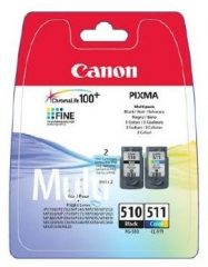 Canon PG-510/CL-511 Multipack - 1 darab Canon PG-510, 1 darab Canon CL-511 tintapatron egy csomagban (Canon PG-510/CL-511 Multipack)