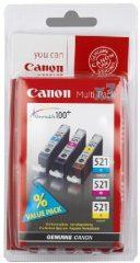 Canon CLI-521MP tintapatron - színes (Canon CLI-521 Multi-Pack)