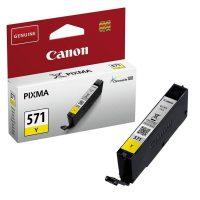 Canon CLI-571Y tintapatron - sárga (Canon CLI-571Y)