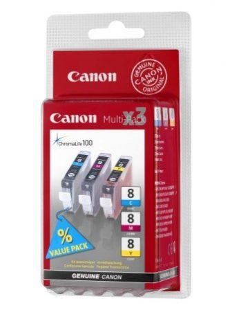 Canon CLI-8MP tintapatron - színes (Canon CLI-8 Multi-Pack)