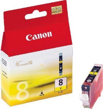 Canon CLI-8Y tintapatron - sárga (Canon CLI-8Y)